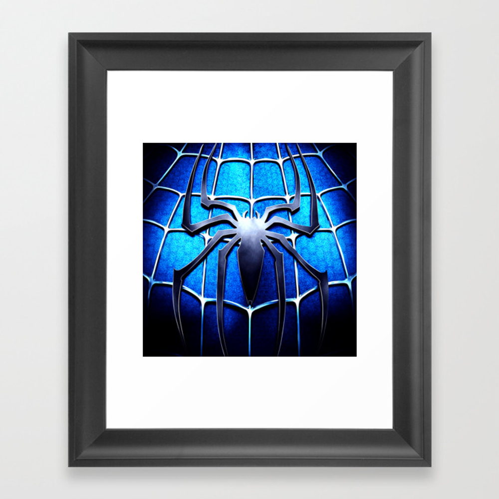 Spider Man Framed Art Print by Blur14 FRM8629289