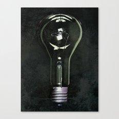 Giant Industrial Light Bulb Canvas Print