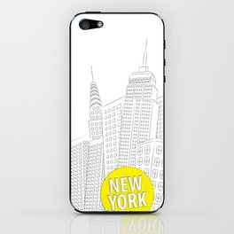 New York, New York iPhone Skin