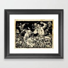 RUDO & TITAN Framed Art Print