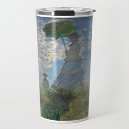Claude Monet, Woman with a Parasol Travel Mug