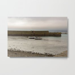 Two Boats Waiting for an Adventure at St. Michael's Mount Metal Print