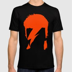 BOWIE MEDIUM Mens Fitted Tee Black