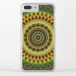 Mandala 237 Clear iPhone Case