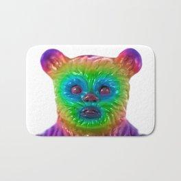 Neon Bear Bath Mat