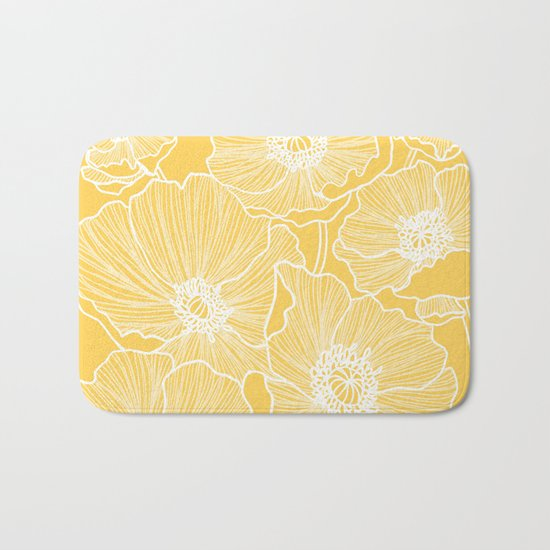 Sunshine Yellow Poppies by colorpopdesign