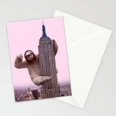 KING SLOTH Stationery Cards