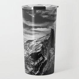 Half Dome B&W Travel Mug