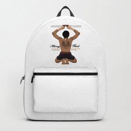 Muay Thai Wai Khru Backpack