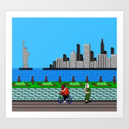 Ask Gary Vee Show - NES Punch Out Training Art Print