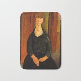"Amedeo Modigliani ""Flower Vendor.jpg Bath Mat"