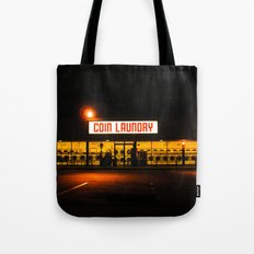 Coin Laundry Tote Bag