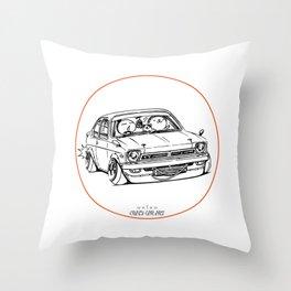 Crazy Car Art 0189 Throw Pillow