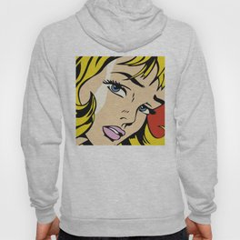 A vectorised Roy Lichtenstein Hoody