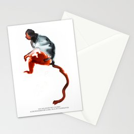 Miss Waldron's Red Colobus Stationery Cards