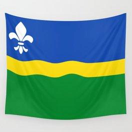 Flag of Flevoland Wall Tapestry