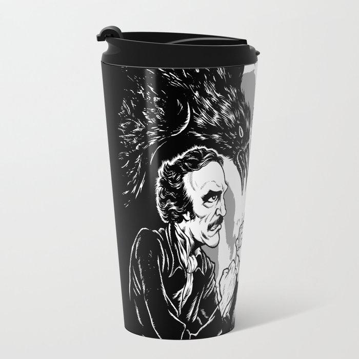 Poe vs. Lovecraft Travel Mug