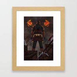 The Mercenary Framed Art Print