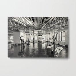 Empire State Bldg. - N.Y.C.  Metal Print
