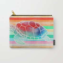 Turtle Collage by Garima and Jacqueline Carry-All Pouch