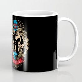El Santo, Mexican wrestling fighter - Lucha Libre Coffee Mug