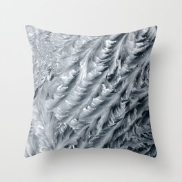 metal patterns Throw Pillow