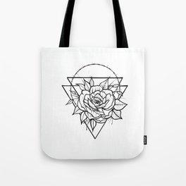 Crown Of Thorns - B&W Tote Bag