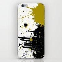 beast iPhone & iPod Skins featuring Beast by Kellie Anne