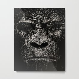 Anger in the Hills Metal Print