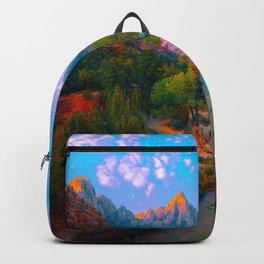 Flowing With The River Backpack
