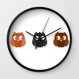 Owly Potter Wall Clock