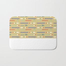 Geometrical Cacti Bath Mat