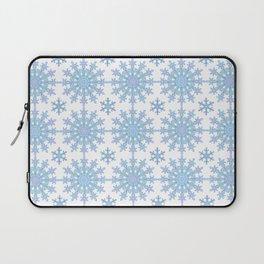 Snowflake Medallion Pattern 1 Laptop Sleeve