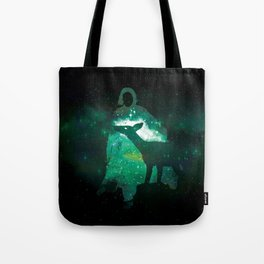 Snape and the Doe Tote Bag