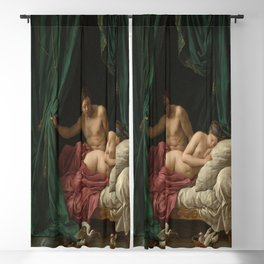 Louis-Jean-Francois Lagrenee's Mars and Venus Allegory of Peace Blackout Curtain