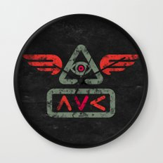 Ave Wall Clock