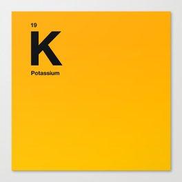 Potassium Canvas Print