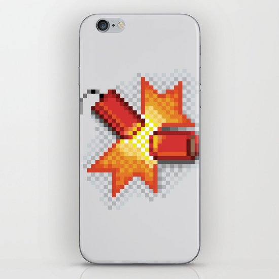 Pixel Boom iPhone & iPod Skin