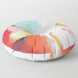 landscape in spring Floor Pillow