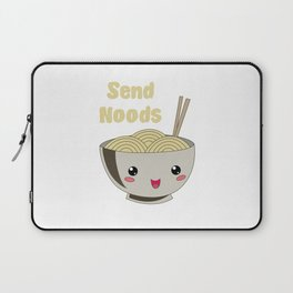 Send Noods Japanese Ramen Noodles Vintage Laptop Sleeve