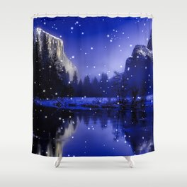 Enchanted Lake Shower Curtain