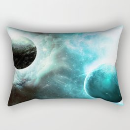 Hopeful Galaxy Rectangular Pillow