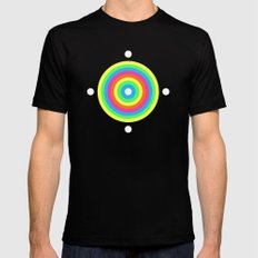 Points Mens Fitted Tee Black MEDIUM