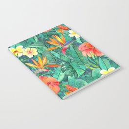 Classic Tropical Garden Notebook