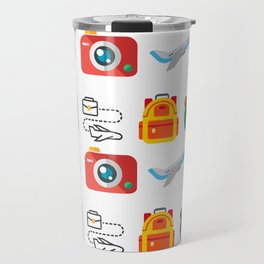 Travel Icons Travel Mug