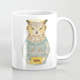 Feathers & Tunes Coffee Mug