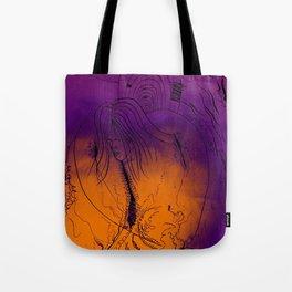 Spiderwebs Tote Bag