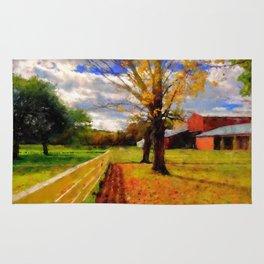 Massachusetts - Autumn Colors Rug