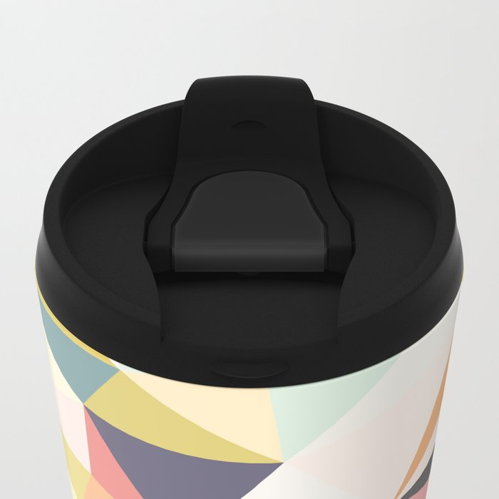 Deco Tris Metal Travel Mug