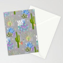 Modernism Desert Landscape Stationery Cards
